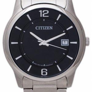 Citizen Dress Bd0020-54e Kello Musta / Teräs