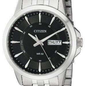 Citizen Dress Bf2011-51e Kello Musta / Teräs