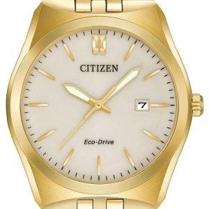 Citizen Dress Bm7332-53p Kello Beige / Kullansävytetty Teräs