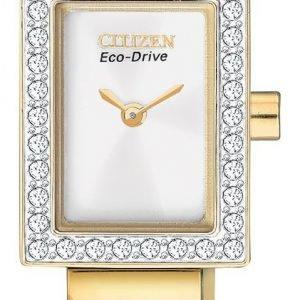 Citizen Dress Eg2882-59a Kello Valkoinen / Kullansävytetty