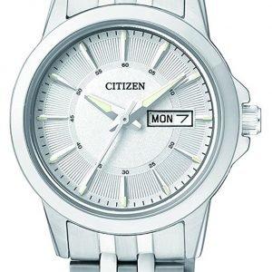 Citizen Dress Eq0601-54a Kello Hopea / Teräs