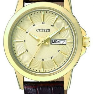 Citizen Dress Eq0603-08p Kello Kullattu / Nahka