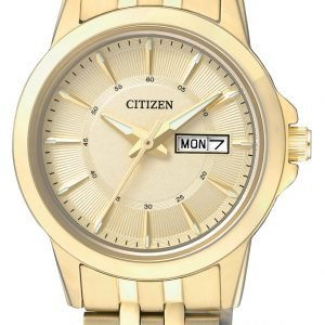 Citizen Dress Eq0603-59p Kello Kullattu / Kullansävytetty