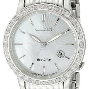 Citizen Dress Ew2280-58d Kello Sininen / Teräs