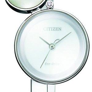 Citizen Dress Ew5490-59a Kello Hopea / Teräs