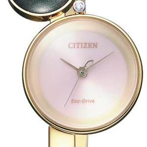 Citizen Dress Ew5493-51w Kello Pinkki / Kullansävytetty Teräs