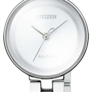 Citizen Dress Ew5500-57a Kello Hopea / Teräs