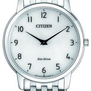 Citizen Eco Drive 180 Ar1130-81a Kello Valkoinen / Teräs