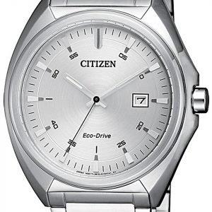 Citizen Eco Drive 180 Aw1570-87a Kello Hopea / Teräs