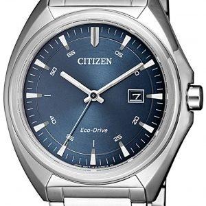 Citizen Eco Drive 180 Aw1570-87l Kello Sininen / Teräs