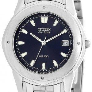 Citizen Eco Drive 180 Bm0181-55l Kello Sininen / Teräs