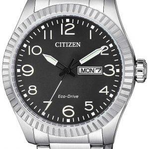 Citizen Eco Drive 180 Bm8530-89e Kello Musta / Teräs
