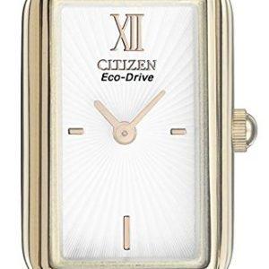 Citizen Eg2823-58a Kello Valkoinen / Kullansävytetty