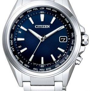 Citizen Elegance Cb1070-56l Kello Sininen / Titaani