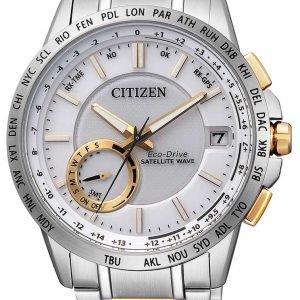 Citizen Elegance Cc3004-53a Kello Valkoinen / Kullansävytetty