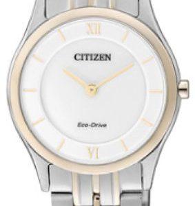 Citizen Elegance Eg3225-54a Kello Hopea / Punakultasävyinen