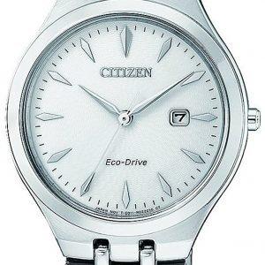 Citizen Elegance Ew2490-80b Kello Hopea / Teräs