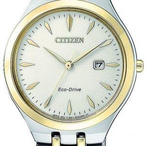 Citizen Elegance Ew2494-89b Kello Kerma / Kullansävytetty