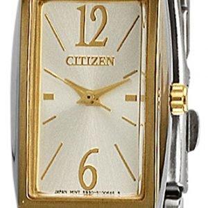 Citizen Elegance Ex0304-56a Kello Hopea / Kullansävytetty
