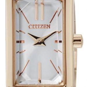Citizen Elegance Ez6323-56a Kello Hopea / Kullansävytetty