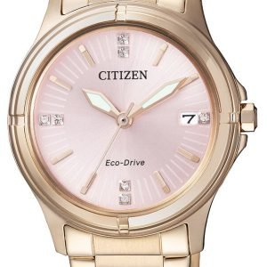 Citizen Elegance Fe6053-57w Kello Pinkki / Punakultasävyinen