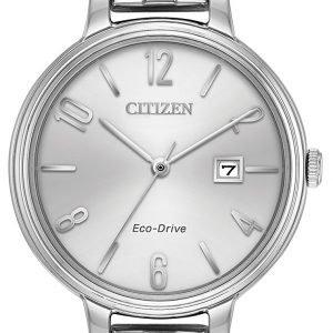 Citizen Ew2440-53a Kello Hopea / Teräs