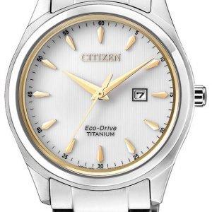 Citizen Ew2470-87b Kello Valkoinen / Titaani