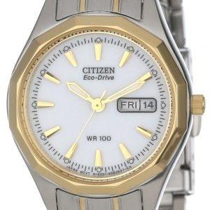 Citizen Ew3144-51a Kello Valkoinen / Teräs