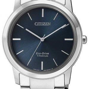 Citizen Fe7020-85l Kello Sininen / Titaani