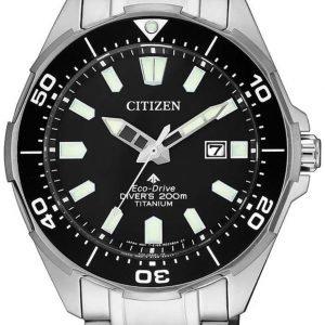 Citizen Promaster Bn0200-81e Kello Musta / Titaani