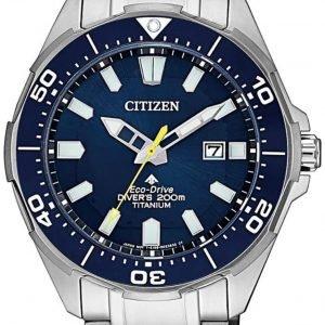 Citizen Promaster Bn0201-88l Kello Sininen / Titaani