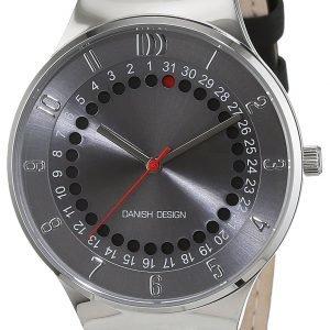 Danish Design Classic 3314510 Kello Harmaa / Nahka