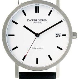 Danish Design Classic 3316100 Kello Valkoinen / Nahka