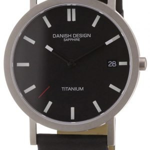 Danish Design Classic 3316102 Kello Musta / Nahka