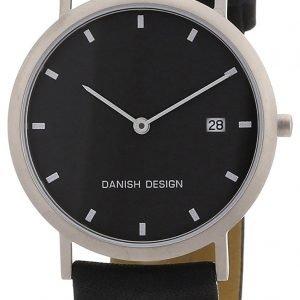Danish Design Classic 3316110 Kello Musta / Nahka