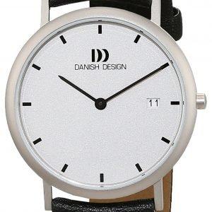 Danish Design Classic 3316113 Kello Hopea / Nahka