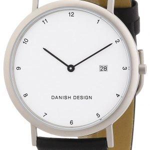 Danish Design Classic 3316313 Kello Valkoinen / Nahka