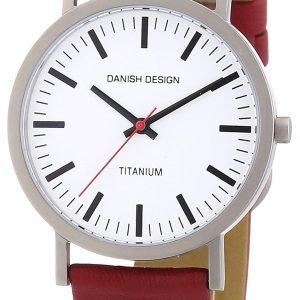 Danish Design Classic 3316322 Kello Valkoinen / Nahka