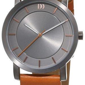 Danish Design Classic 3324573 Kello Harmaa / Nahka