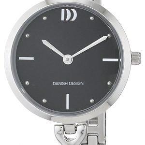 Danish Design Classic 3324577 Kello Musta / Teräs