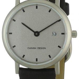 Danish Design Classic 3326183 Kello Hopea / Nahka