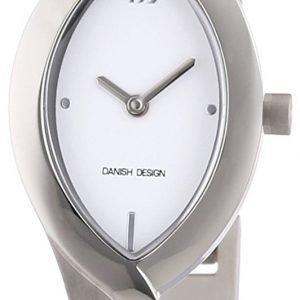 Danish Design Classic 3326596 Kello Valkoinen / Titaani