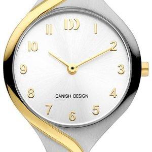 Danish Design Classic Iv65q1200 Kello Hopea / Kullansävytetty