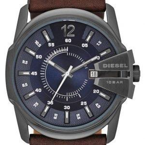 Diesel Analog Dz1618 Kello Sininen / Nahka