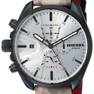 Diesel Chronograph Dz4472 Kello Hopea / Nahka