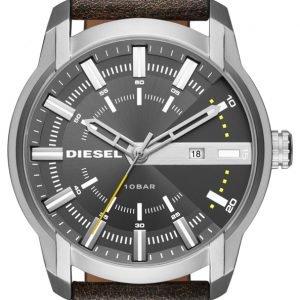 Diesel Dz1782 Kello Harmaa / Nahka