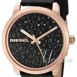Diesel Dz5520 Kello Kristalleilla / Nahka