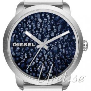 Diesel Dz5522 Kello Kristalleilla / Teräs