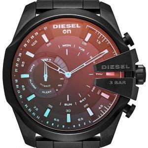 Diesel Dzt1011 Kello Musta / Teräs