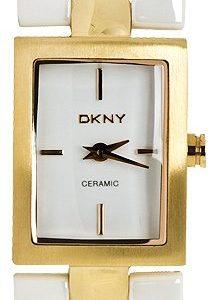 Dkny Ceramic Ny8548 Kello Valkoinen / Kullansävytetty Teräs